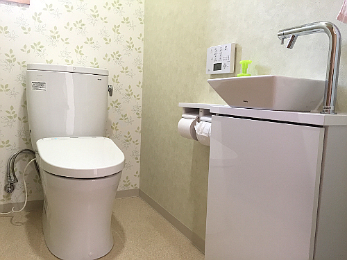 爽やかトイレ空間