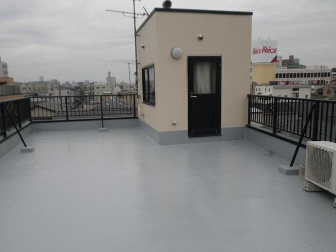 屋上防水(外壁塗装含む)