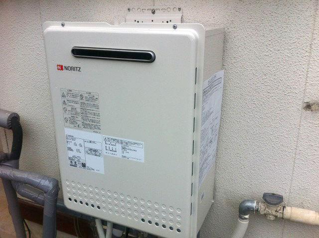 横浜市青葉区 ガス給湯器取替工事