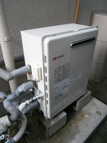 リモコン増設 横浜市港北区 給湯器取替工事