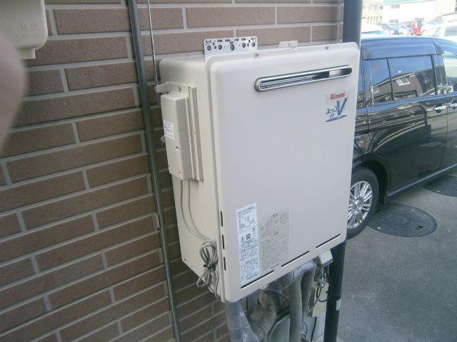 無線リモコン式ガス給湯器取替 (岡崎市)