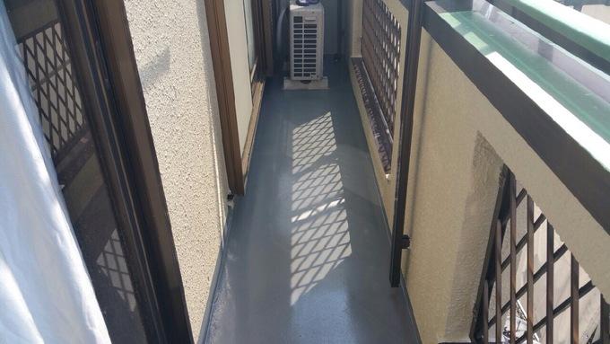 東京都清瀬市中里 下地補修・外壁塗装・バルコニー防水工事