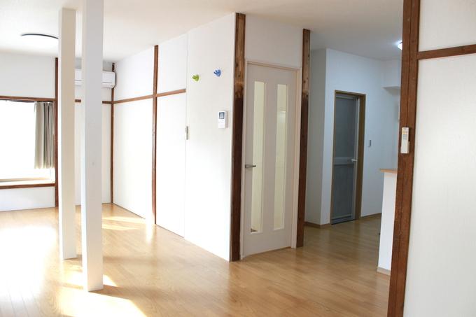 築50年のアパートを暮らしやすい住まいへ