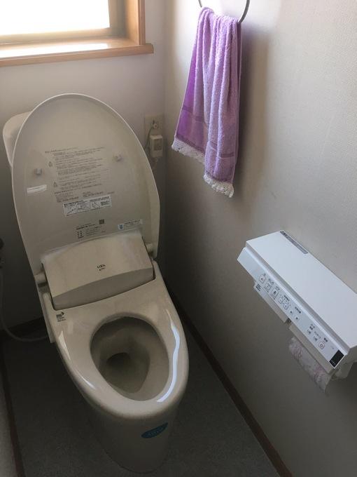 節水型・シャワー一体型トイレ