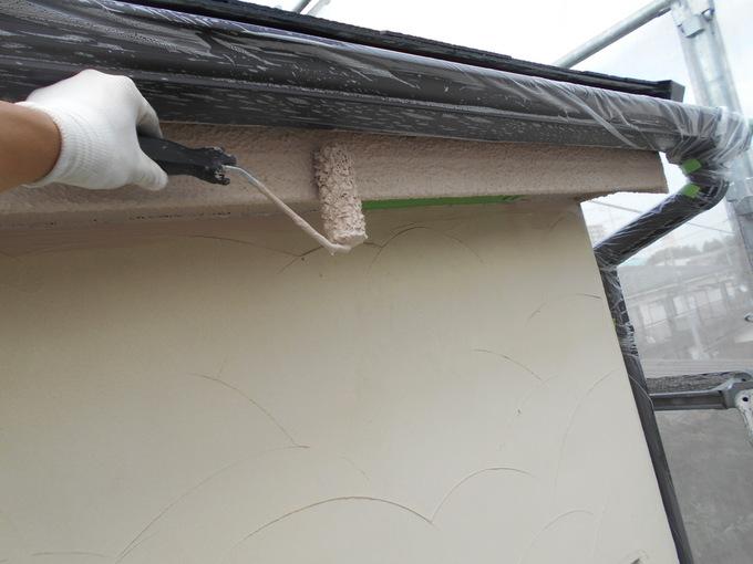 杉並区井草 外壁・屋根塗装・バルコニー保護塗料更新工事