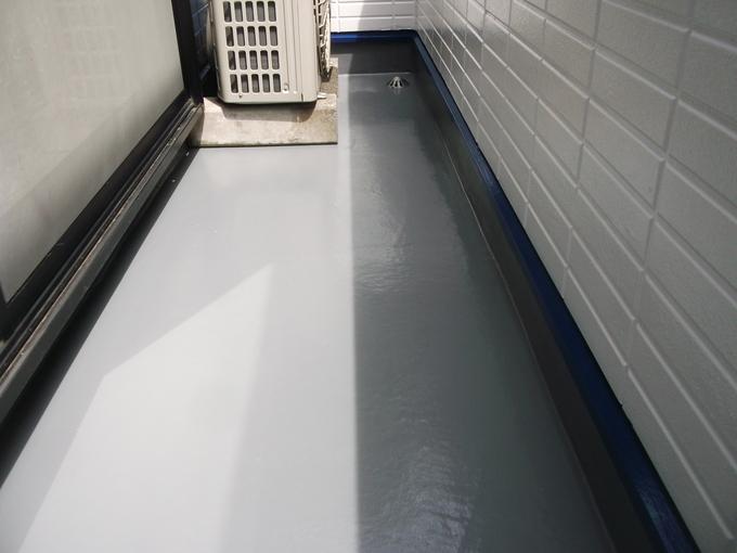中野区上高田 外壁塗装・バルコニー保護塗料更新工事
