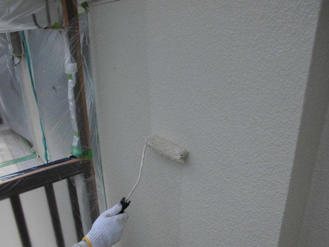 板橋区小茂根 外壁下地補修塗装工事