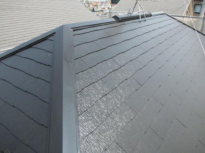 埼玉県和光市新倉 外壁・屋根クリア塗装工事