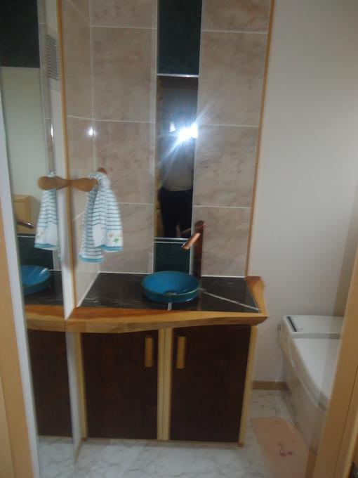 デザイン性の高い洗面台