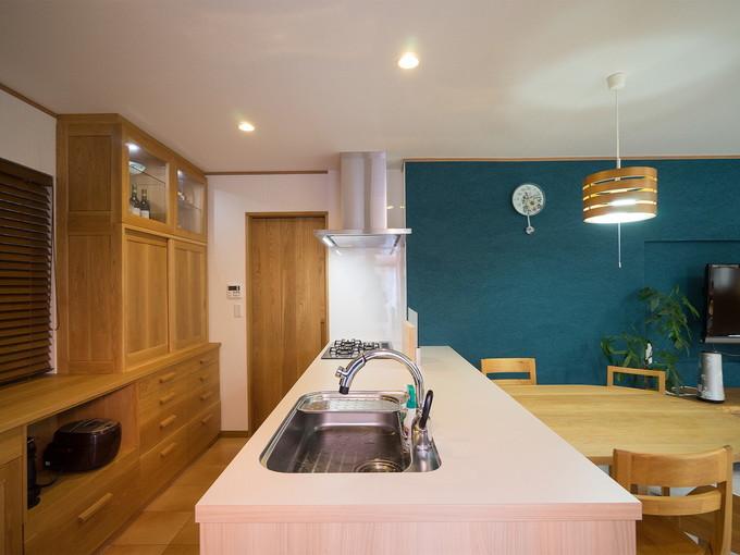 'KITCHEN HOUSE'のオーダーキッチン