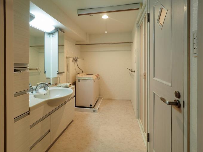 洗面脱衣室の設備・内装一新!