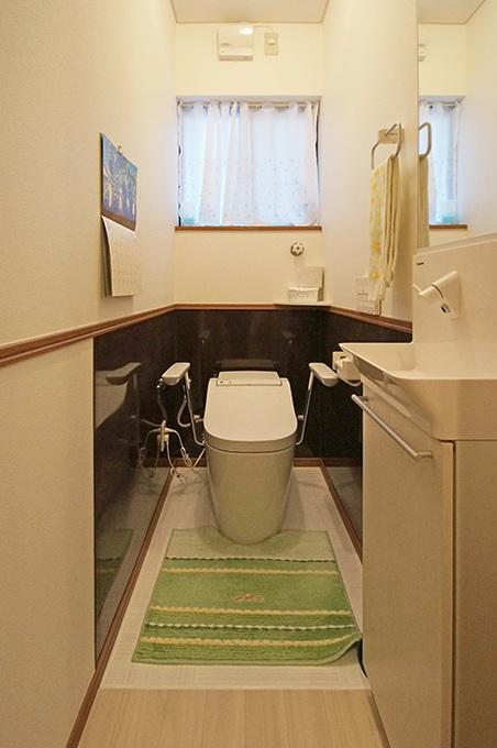 お掃除しやすいトイレ