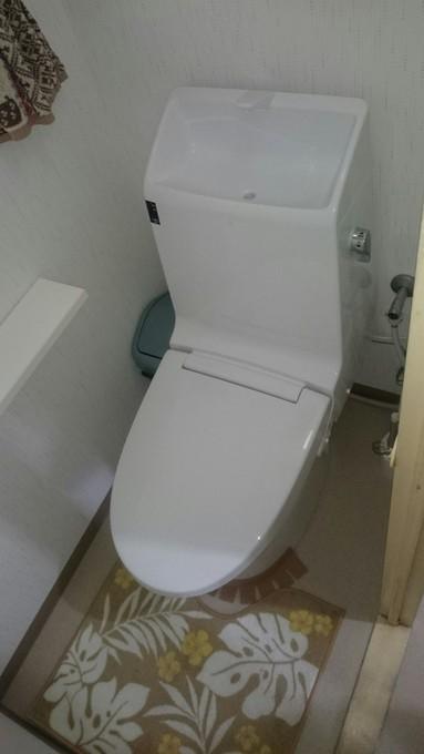 最新型トイレ
