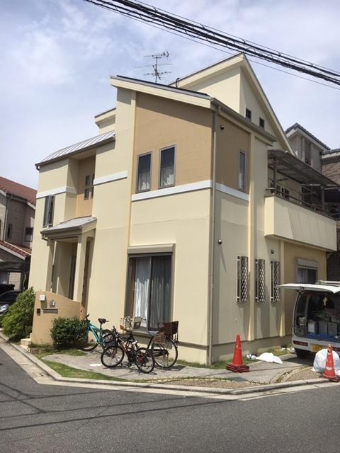 外壁屋根塗装工事