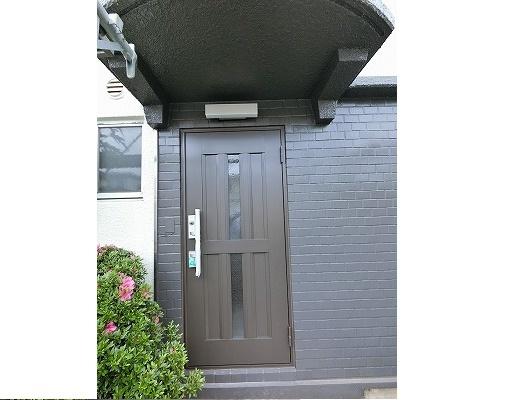 玄関ドア交換と玄関土間リフォーム