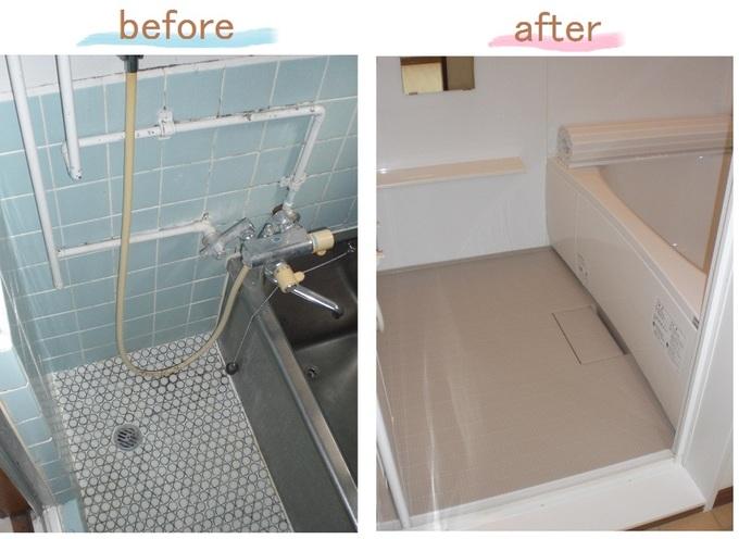 中古住宅購入に伴う浴室入れ替え