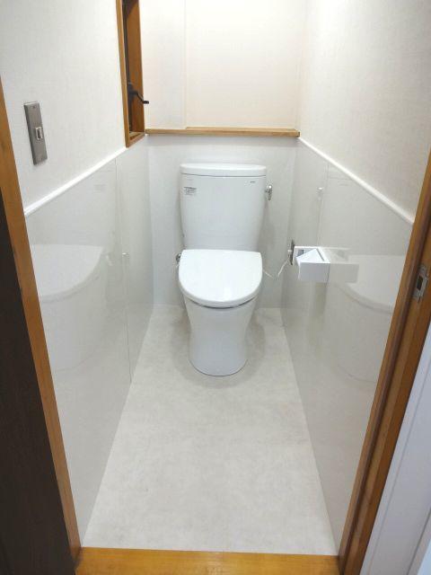 内装一新、清潔トイレ