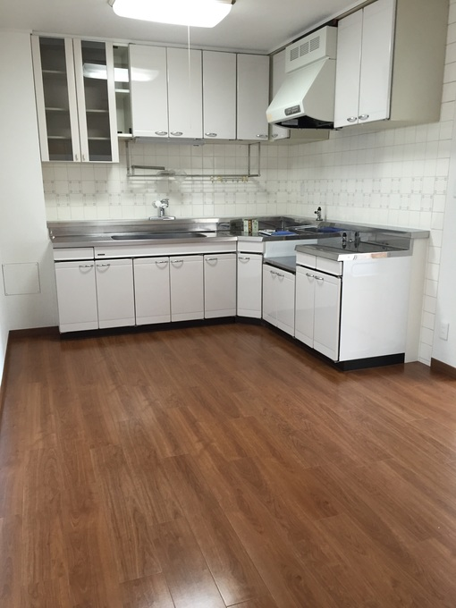 キッチン補修工事