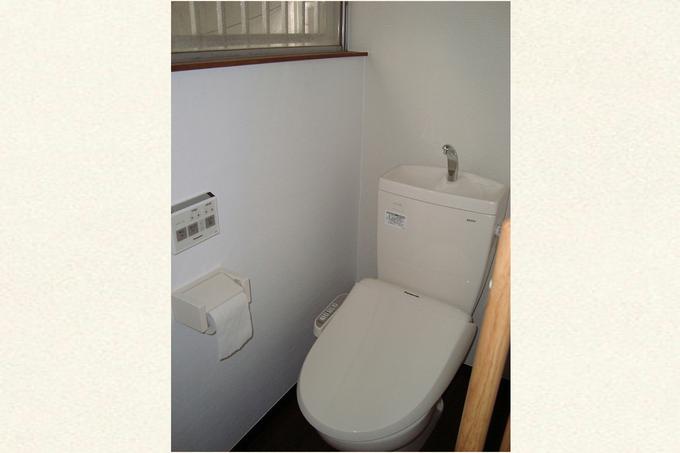 高齢者に優しいトイレ