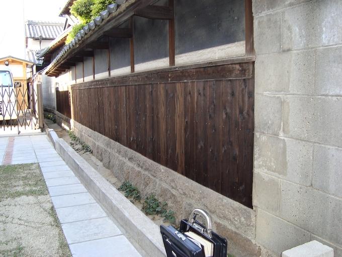 杉板張替え工事