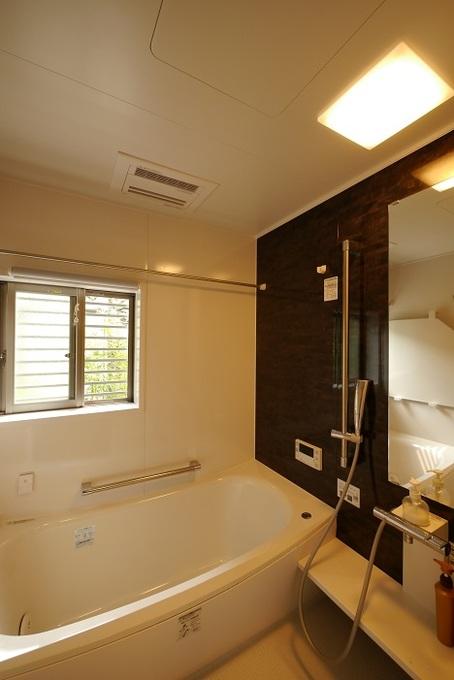 念願の一坪タイプの浴室を実現