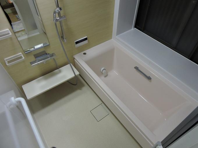 温かいお風呂へのリホーム