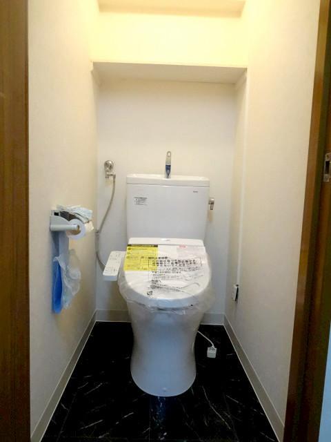不安を解消したトイレ