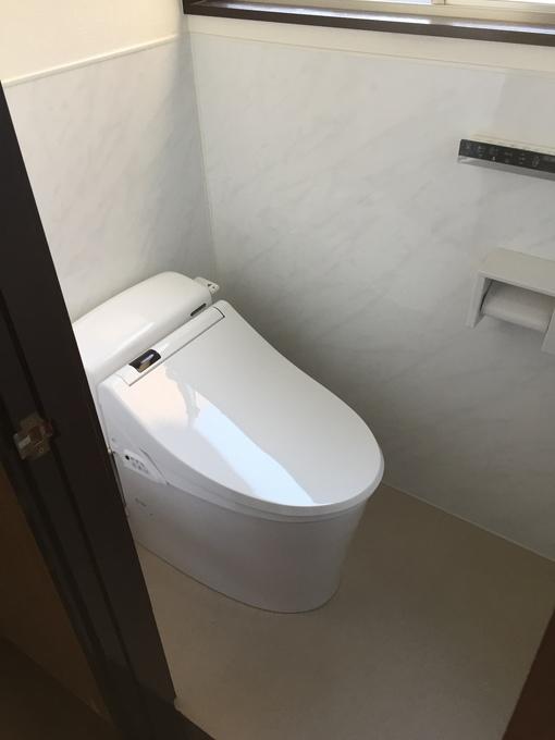 和式から快適な洋式トイレへ