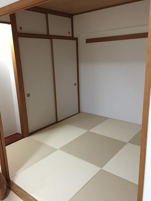 モダンな畳で和室をイメージチェンジ