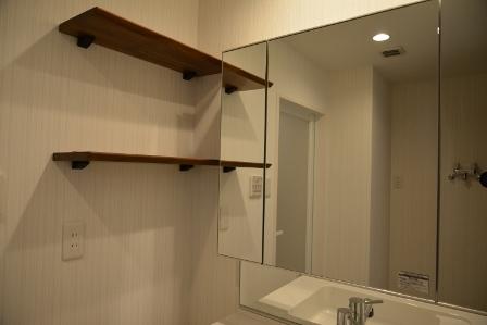 マンション 築25年 洗面室
