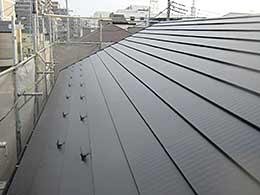 屋根塗装(千葉県船橋市)