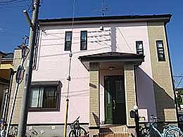 外壁塗装(千葉県野田市)