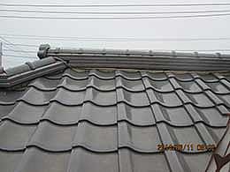 屋根漆喰工事(茨城県)