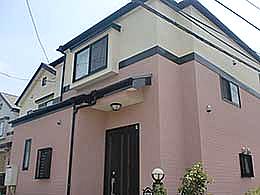 外壁塗装(千葉県柏市)