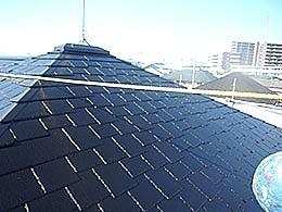 屋根塗装(千葉県柏市)