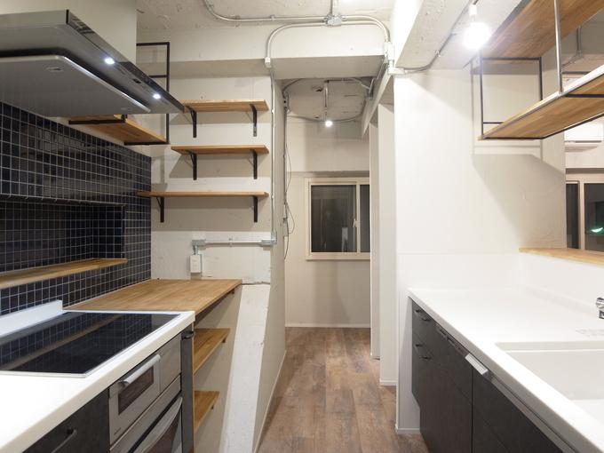 Ⅱ型キッチン