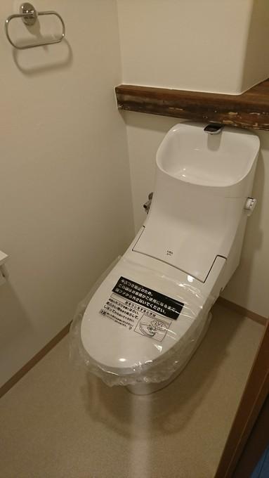 一体型トイレ