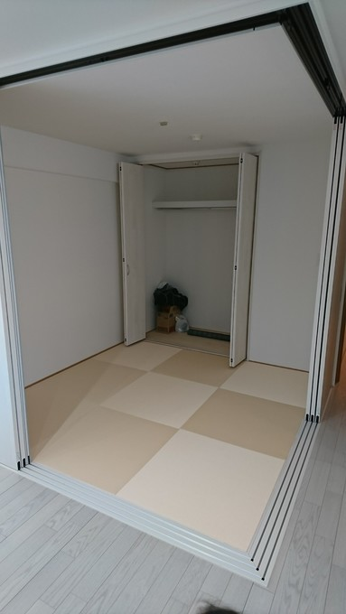 琉球畳の白!?