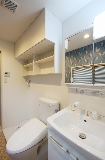 【洗面所】賃貸マンションにデザインで大きな付加価値を!
