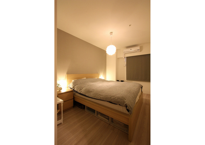 【主寝室】家具が主役の北欧ナチュラルスタイル