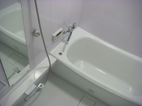 魔法瓶浴槽で差し湯回数を軽減 浴室編