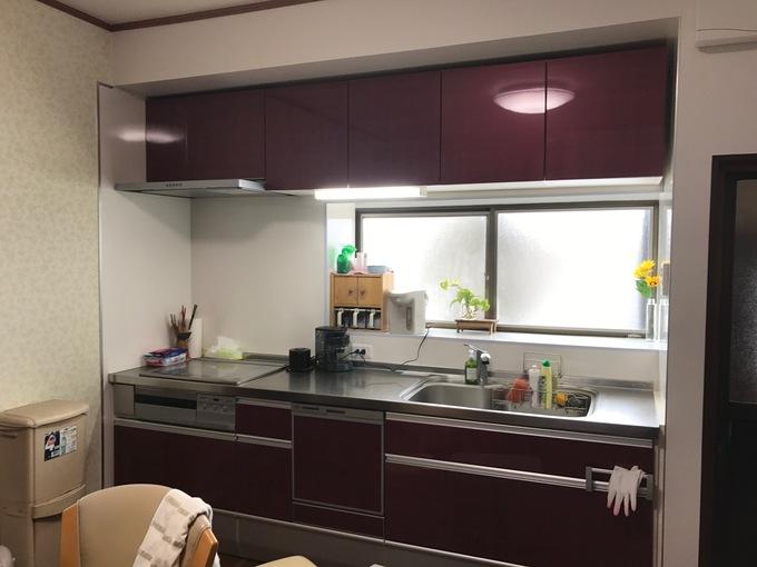 明るくて美しいキッチン空間へリフォーム!