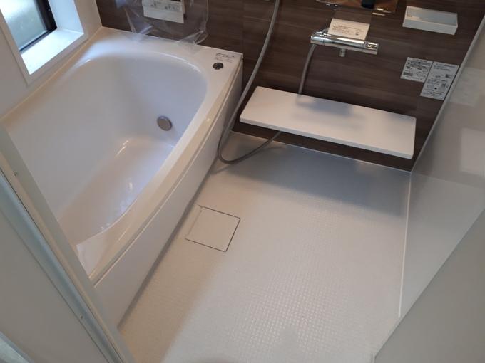 断熱性ある浴室に!