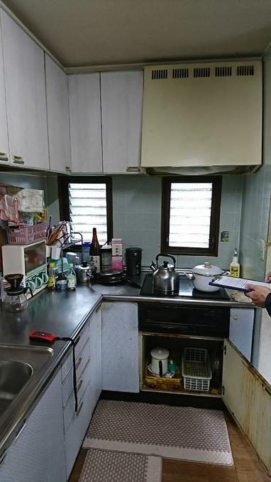 憬れのカラーデザインのキッチンへリフォーム!