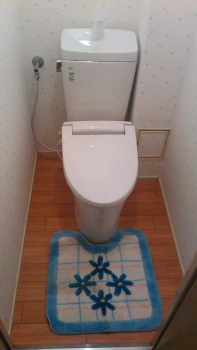 トイレ室改装