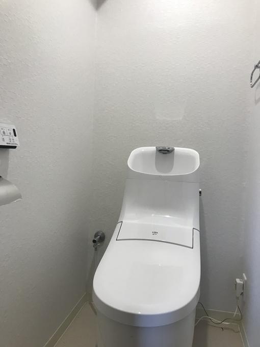 清潔感のあるトイレになりました