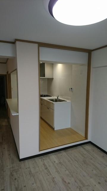 ワンプラスのキッチン空間
