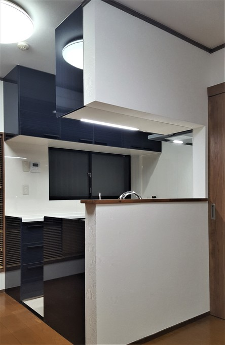 リビング一体型対面式キッチン