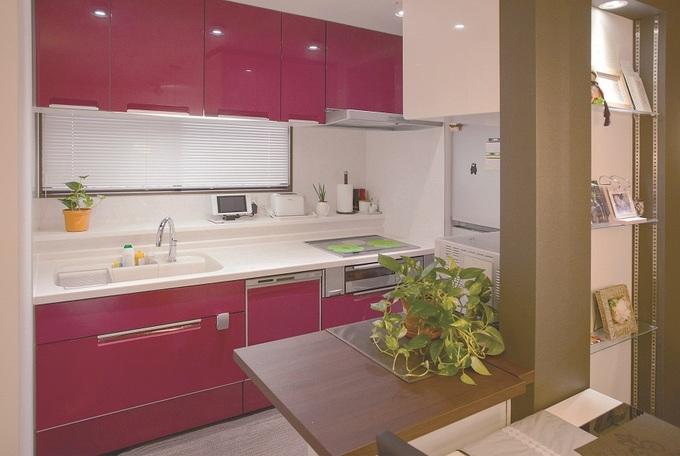 キッチン:ホテルをイメージ・マンションのリノベーション