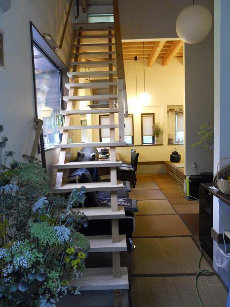 階段:コテージ風の家